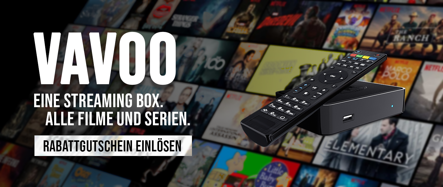 VAVOO TV - Eine Streaming Box - alle Serien und Filme streamen